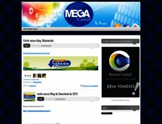 megacanal.wordpress.com screenshot