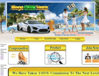 megacashteam.com screenshot