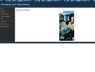megacnc.com screenshot