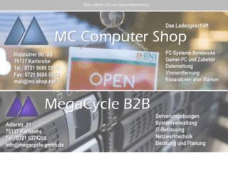 megacycle.de screenshot
