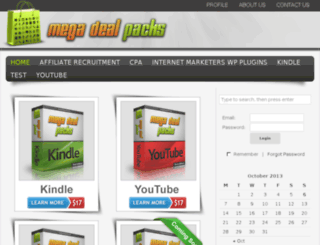 megadealpacks.com screenshot