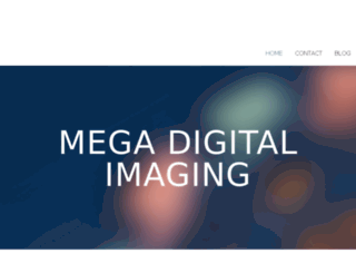megadigitalimaging.bravesites.com screenshot