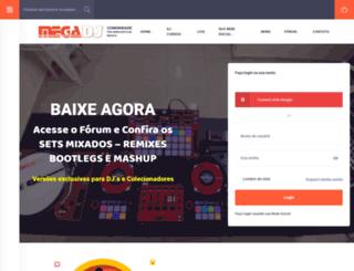 megadj.com.br screenshot
