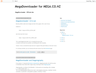 megadownloaderapp.blogspot.tw screenshot