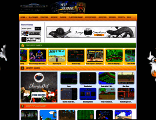 megadrive-emulator.com screenshot