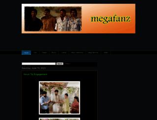 megafanz.blogspot.com screenshot