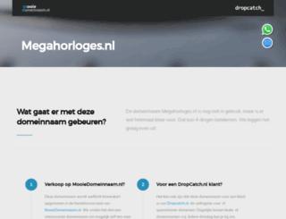 megahorloges.nl screenshot