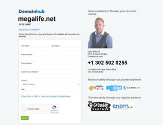 megalife.net screenshot