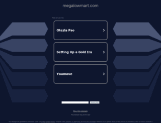 megalowmart.com screenshot