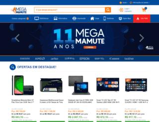 megamamute.com.br screenshot