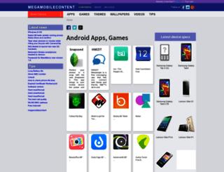 megamobilecontent.com screenshot