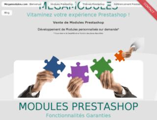 megamodules.com screenshot