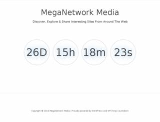 meganetworkmedia.com screenshot