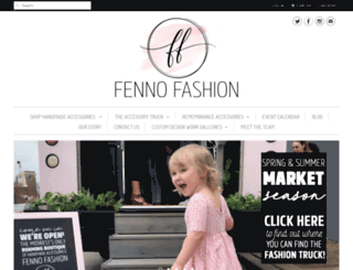 meganfenno.com screenshot