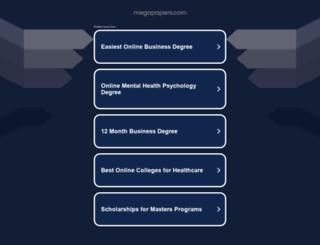 megapapers.com screenshot