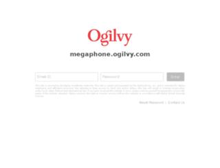 megaphone.ogilvy.com screenshot