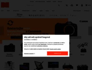 megapixel.cz screenshot