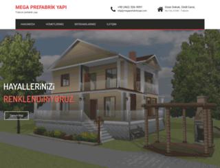 megaprefabrikyapi.com screenshot
