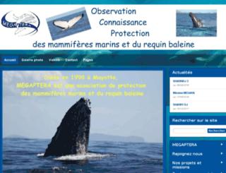 megaptera.org screenshot