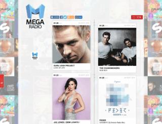 megaradio.pro screenshot