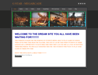 megarcade1.weebly.com screenshot