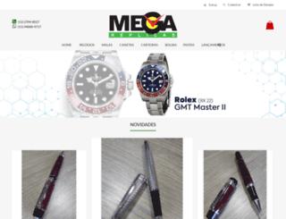 megareplicas.com.br screenshot