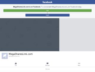 megashareslink.com screenshot
