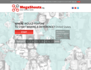 megashouts.org screenshot