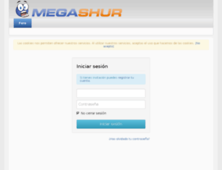 megashur.se screenshot