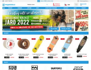 megaskate.cz screenshot