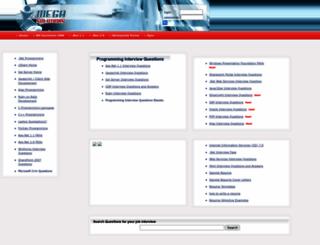 megasolutions.net screenshot