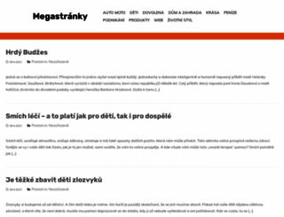 megastranky.cz screenshot