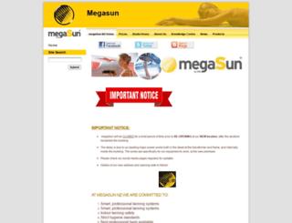 megasun.co.nz screenshot