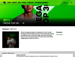 megatop50.3fm.nl screenshot