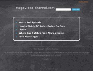 megavideo-channel.com screenshot