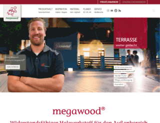 megawood.com screenshot