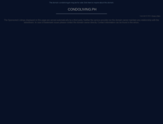 megaworld.condoliving.ph screenshot