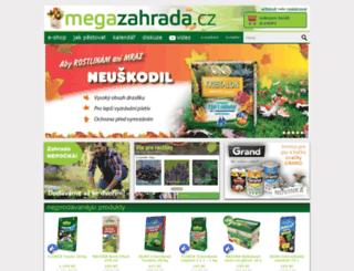 megazahrada.cz screenshot