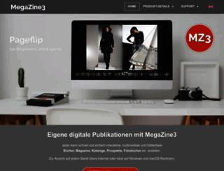 megazine3.de screenshot