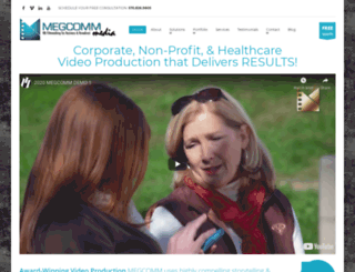 megcomm.com screenshot