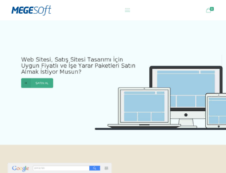 megebilisim.com screenshot
