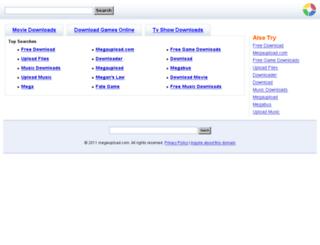 megeupload.com screenshot
