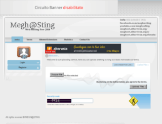 meghost.altervista.org screenshot