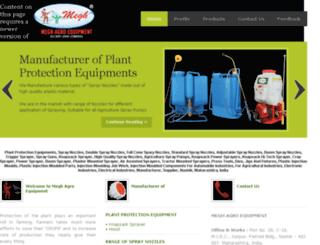 meghspray.com screenshot
