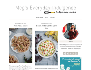megseverydayindulgence.wordpress.com screenshot