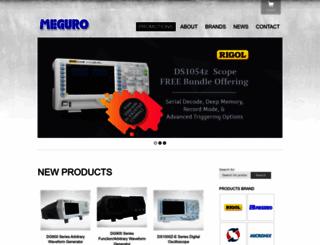 meguro.com.my screenshot