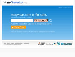 megwear.com screenshot