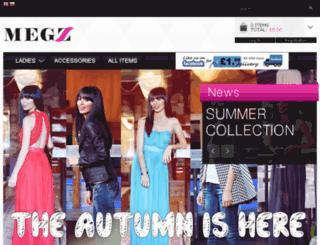 megz-fashion.co.uk screenshot