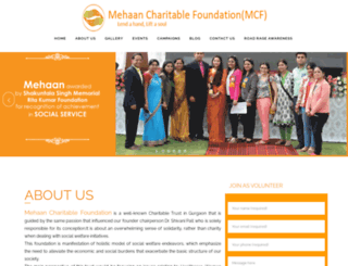 mehaancharitablefoundation.com screenshot