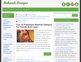 mehandidesigns.org screenshot